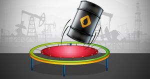crude oil bouncing