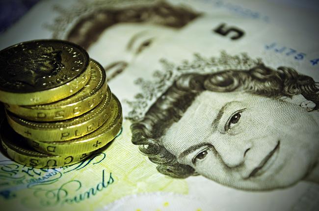 Five UK note