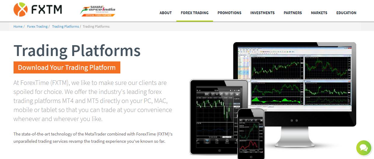 FXTM 2 Trading Platform