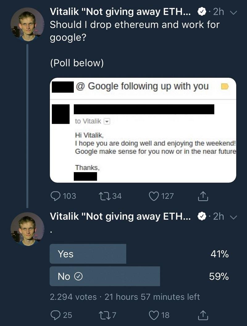 vitalik butterin google