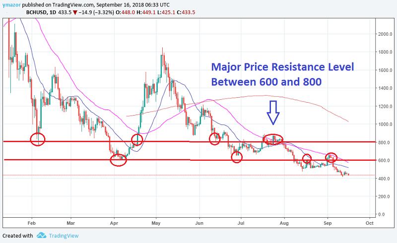 Bitcoin Cash Daily Chart
