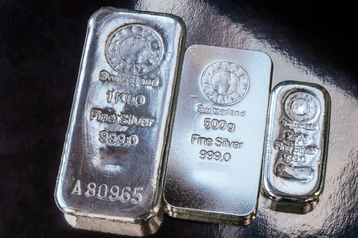 Silver Sliding on Global Growth Fears