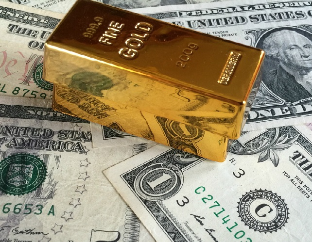 US Dollar and Gold in Tandem