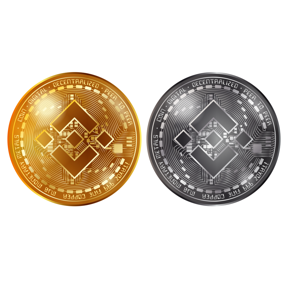 Binance gold and silver coins