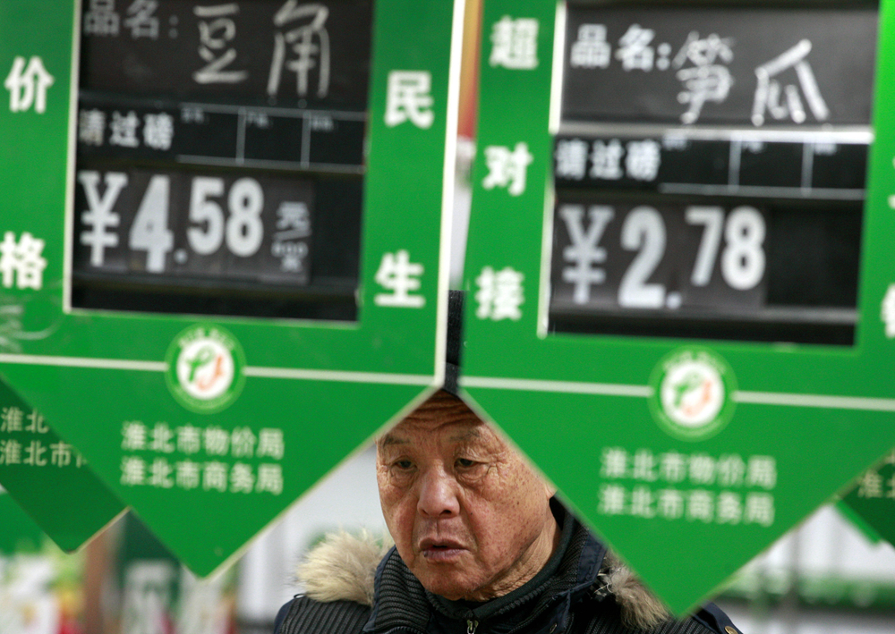 Global Markets Edge Lower, Coronavirus Fears Linger, Chinese Inflation Spikes
